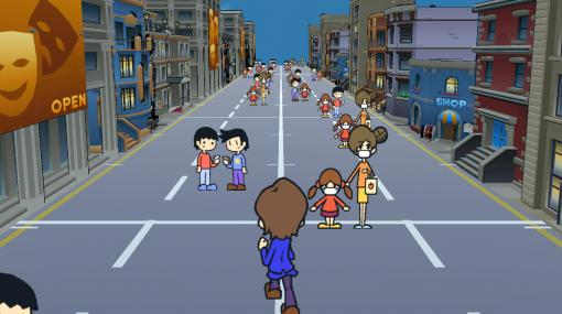 密集団を解散させるリズムゲーム『密ですビート・ストリート』公開。半人半漁の妖怪と共に、ソーシャルディスタンスを徹底