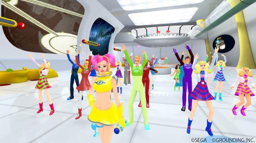 「うらら」とVRでダンス! PS VR用「スペースチャンネル5 VR あらかた★ダンシングショー」本日発売新たなストーリーやステージ、キャラクターが追加