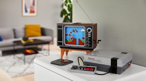 海外版ファミコンをレゴで再現する「LEGO Nintendo Entertainment System」発表、8月1日国内発売へ。「レゴ マリオ」との連携機能も