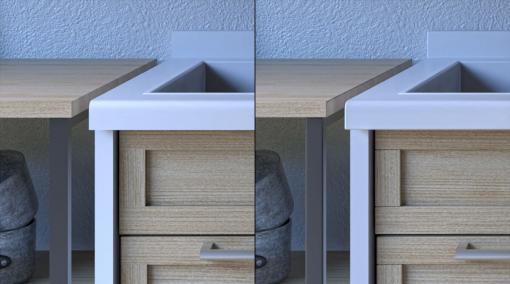 3ds Max × ビジュアライゼーション 第2回:超シンプルにつくる「昼下がりのキッチン」その②モデリング