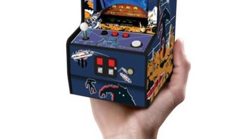 「スペースインベーダー」が「レトロアーケード」シリーズより8月中旬に発売!手のひらサイズで遊び放題