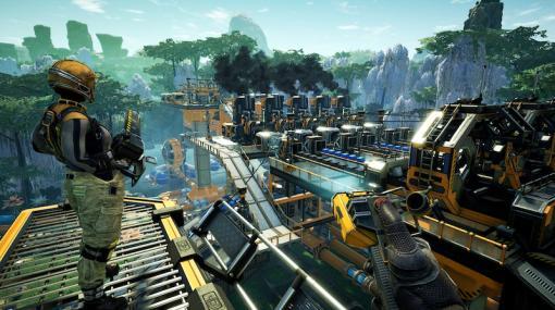 一人称視点のオープンワールド型工場建設シム「Satisfactory」、Steamにて早期アクセス版を配信開始Epic Gamesストア版とのクロスプラットフォームにも対応