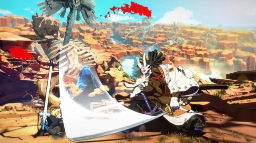 『ギルティギア ストライヴ』血を吸う刀を持つヴァンパイア侍「名残雪」のバトルスタイル公開。レオの参戦とPS5版発売も決定