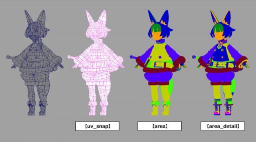Mayaで始めるゲーム用ローポリキャラモデル 第4回:デザインしたモデルの作成