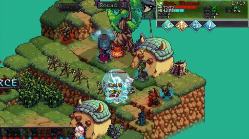 荒廃した世界を行くSRPG『Fae Tactics』Steamにて7月31日発売へ。魔法生物の収集&パーティー編成要素ありの、ターン制・行動順ハイブリッドバトル