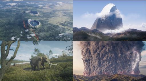「日本列島の絶景」が誕生する過程をHoudiniでフォトリアルに描く、NHKスペシャル『列島誕生 ジオ・ジャパン2』 - 特集