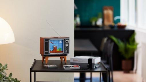 海外ファミコン「NES」とブラウン管テレビを再現した大人のレゴ「LEGO Nintendo Entertainment System」発表!今度の「レゴ マリオ」はテレビ内を冒険だ