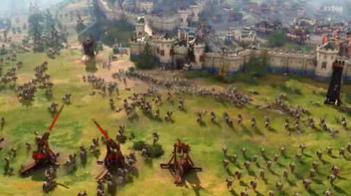 シリーズ最新作「Age of Empires IV」の初のゲームプレイトレイラーが公開。美麗なグラフィックスで描かれる大規模戦闘シーンに注目