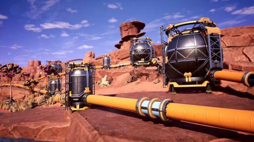 オープンワールド工場建設ゲーム『Satisfactory』パイプラインと液体資源を追加する大型アプデ配信。Steam版の発売も決定