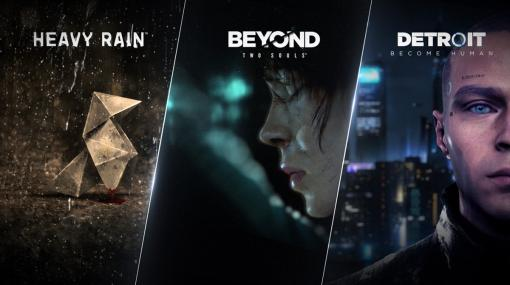 Steam版『Detroit: Become Human』『Beyond: Two Souls』『Heavy Rain』発表、6月18日リリースへ。無料デモも配信中