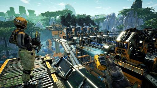 オープンワールド工場建設ゲーム『Satisfactory』売上130万本突破。Steam版はEpic Gamesストア版より速いペースの売れ行き