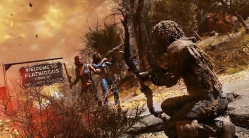 『Fallout 76』バトロワモード「Nuclear Winter」まもなく一周年!モード内に「牛追い棒」などの新武器や衣装が追加されるアップデート告知