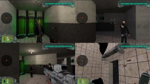 NINTENDO64風味のローカルマルチプレイヤーFPS『Dark Data』Steam配信開始!