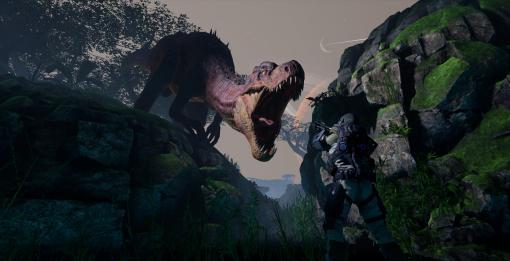 恐竜の群れから隠れて逃げまくれ! Steam用VR「XENOCIDERS -捕食者の星-」先行プレイレポート