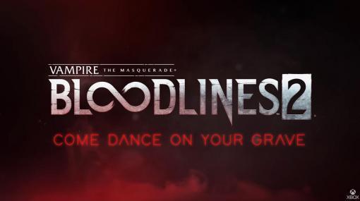 「Vampire: The Masquerade - Bloodlines 2」、Xbox Series Xで発売決定