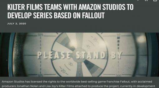 Amazon、人気ゲーム「Fallout」シリーズに基づくオリジナルドラマ制作を発表 - ITmedia NEWS