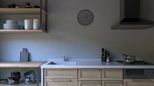3ds Max × ビジュアライゼーション 第1回:超シンプルにつくる「昼下がりのキッチン」その① プロローグ