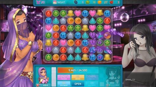 人気アダルト・パズルデートゲーム続編『HuniePop 2: Double Date』開発者の健康問題により発売延期