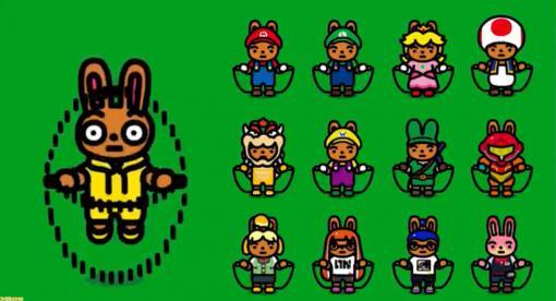 Switch『ジャンプロープ チャレンジ』にマリオやリンク、サムス、しずえなど12種類の任天堂キャラ衣装が追加。二重跳びも可能に!