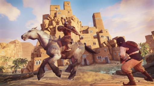 『Conan Exiles』新DLC「ハイボリアの騎行パック」と騎乗戦闘やフォロワーのレベル要素を追加するアップデートが配信!