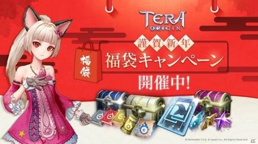 「TERA ORIGIN」にて福袋キャンペーンが開催!高難易度ギルドボスなども登場