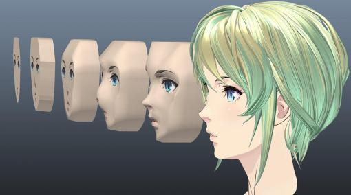 Mayaで作るセルルックキャラクター そこはかとなくアウトローなモデリング方法でセルルックの美女を作ってみた <br>第2回:側面テンプレートをガイドとした頭部立体化手順