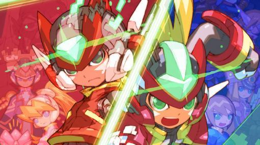 『ロックマン ゼロ&ゼクス ダブルヒーローコレクション』日本でも1月23日発売決定。シリーズ全6作品が新要素盛りだくさんで現行機ハードに登場【先出し週刊ファミ通】