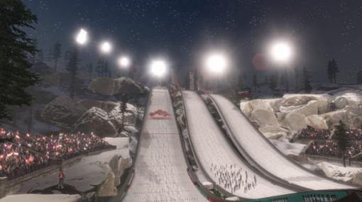 VRスキージャンプ体験『Ski Jumping Pro VR』配信開始―バランスを保って華麗に翔べ!