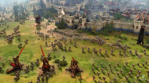「Age of Empires IV」、約2年の沈黙を破りゲームプレイトレーラーを公開!「Age of Empires II Definitive Edition」は本日配信開始!