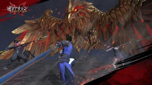 「流星アサシン・武侠デスティニー」,新たに発表された「共闘システム」を紹介