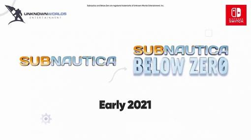 Switch版「Subnautica」シリーズの国内配信ほか,Nintendo Switch向けインディーズゲームの最新情報が明らかに