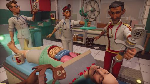 『サージョンシミュレーター2』が8月22日より先行アクセス開始。ハチャメチャ外科医になれる手術シミュレーションゲーム