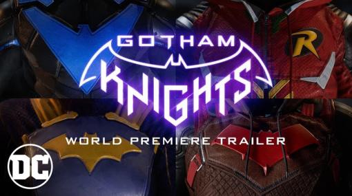 バットマンの新作ゲーム『Gotham Knights』2021年発売決定!オンラインのCo-opプレイ対応、バットマンが死んだゴッサムが舞台