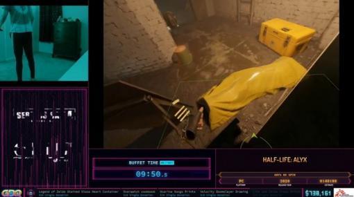 『Half-Life: Alyx』グリッチやルームスペースをフル活用したVRスピードラン!