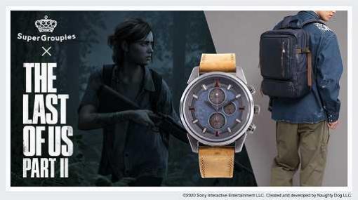 成長したエリーをイメージした「The Last of Us Part II」グッズの予約受付がスタート。腕時計,ジャケット,バックパック,財布がラインナップ