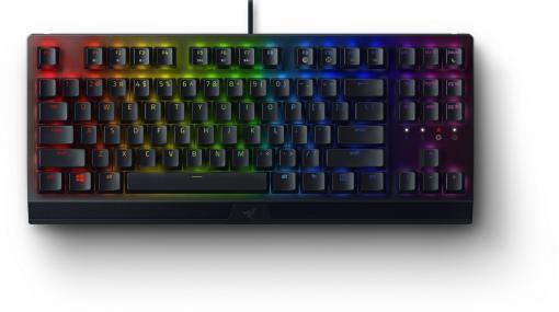 Razerよりコンパクトなゲーミングキーボード2種が8月31日に発売!マウスに貼ってグリップ力を強化する滑り止めテープも