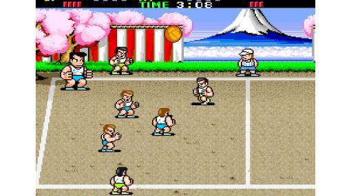 『アーケードアーカイブス 熱血高校ドッジボール部』Switch版が8月27日に配信決定。1987年に発売された『くにおくん』シリーズ第2作目