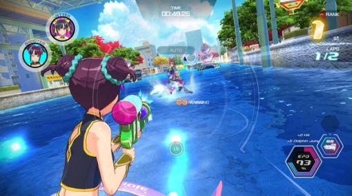 「神田川JET GIRLS」Steam版が本日発売「ジェットレース」に青春をかける少女たちの物語
