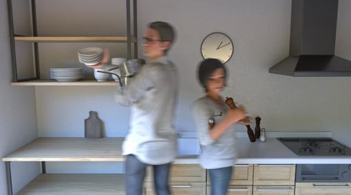 3ds Max × ビジュアライゼーション 第4回:超シンプルにつくる「昼下がりのキッチン」その④小物の配置とレンダリング設定編