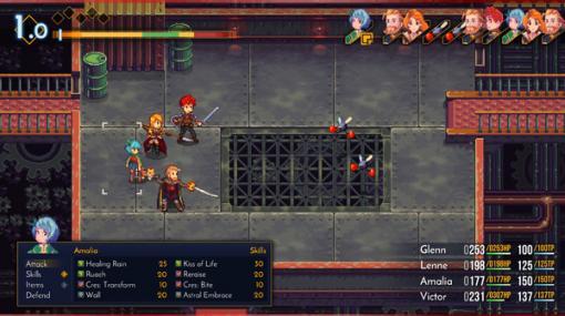剣と魔法にメカもあるドイツ製JRPG『Chained Echoes』プレアルファデモがSteam/GOGにて配信開始