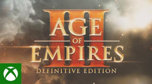 名作RTS「Age of Empires III: Definitive Edition」、発売日が10月16日に決定!