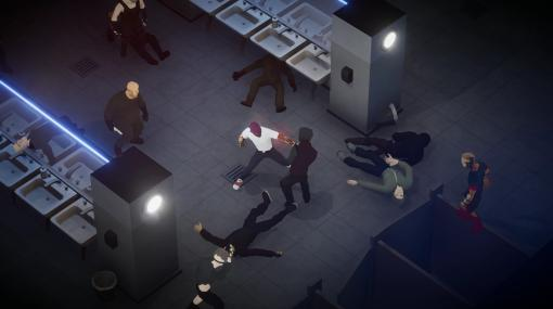 流麗な格闘戦が気持ち良いアクションゲーム『Midnight Fight Express』発表。バットに銃に洗面台にイスに地下鉄、周囲にあるあらゆる物を使って敵をぶちのめせ