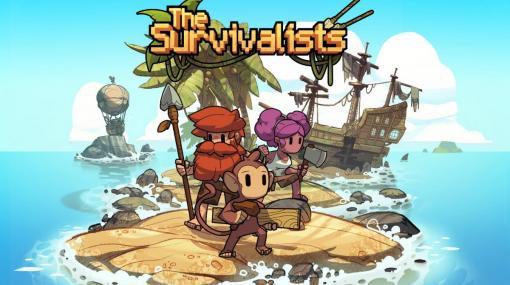 サルと協力して孤島で生き抜くサバイバルサンドボックス「The Survivalists」日本語パッケージ版が10月29日に発売!
