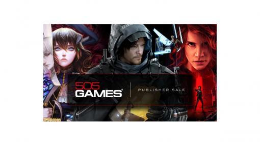 """PC版『デス・ストランディング』や『CONTROL』などがお得に! 505 Games""""Steam パブリッシャーセール""""が9月9日まで開催"""