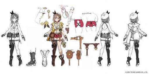 『ライザのアトリエ2』ライザやクラウディア、新キャラなどの3Dモデル&デザイン画が公開!