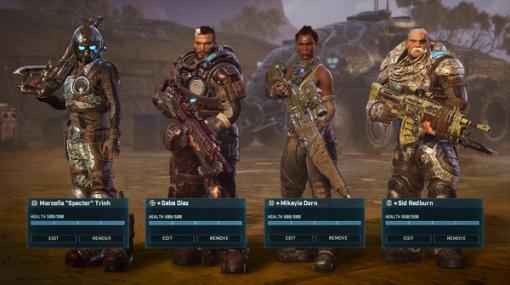 ターン制ストラテジー『Gears Tactics』Xbox One/Series X/S版が海外時間11月10日発売!