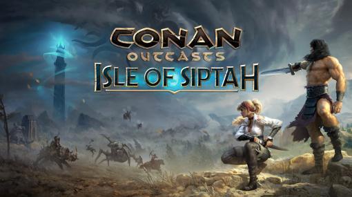 """「Conan Outcasts」,大型拡張DLC""""アイル・オブ・シプター""""が2021年初頭に配信。新規キャラクターで楽しむ新エリアや要素が追加"""