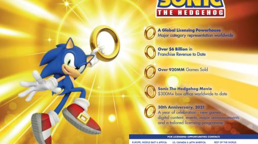 【噂】『ソニック』シリーズ30周年記念の新作ゲーム発売予定…!?海外カタログにて掲載されているのが発見