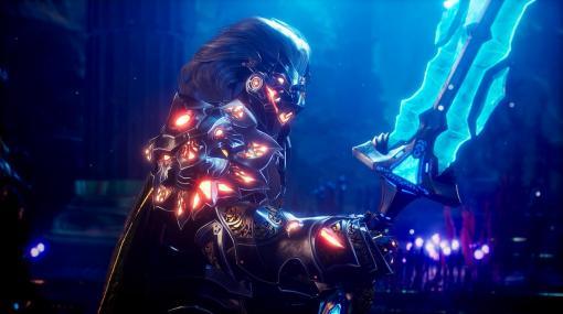 PS5/PC向けアクションRPG『Godfall』派手な戦闘を紹介する最新映像公開。予約特典は『ボーダーランズ』とコラボ、「Zer0の剣」に