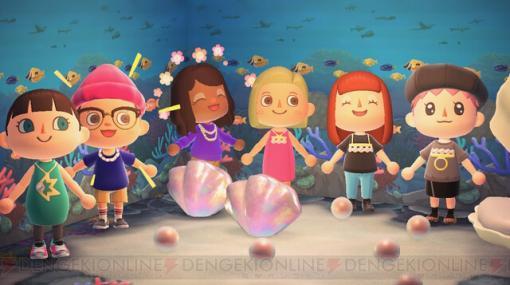 『あつ森』真珠のジュエリーモチーフのマイデザインをTASAKIが無料配布!